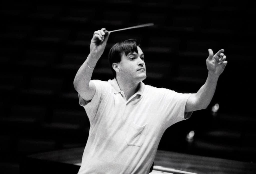 Christian Thielemann dirigiert die Berliner Philharmoniker in XXX, 19XX