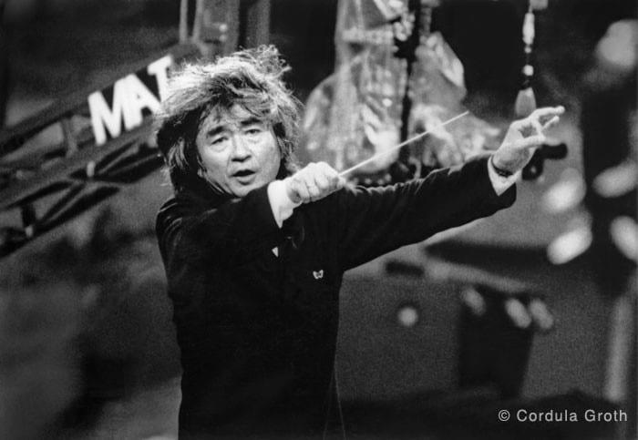 Sejii Ozawa auf der Waldbühne, 19XX