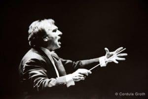 Claudio Abbado in der Berliner Philharmonie